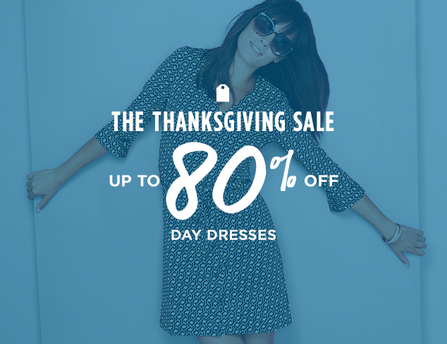 Up to 80% Off: Day Dresses at MYHABIT