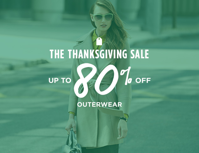 Up to 80% Off: Outerwear at MYHABIT