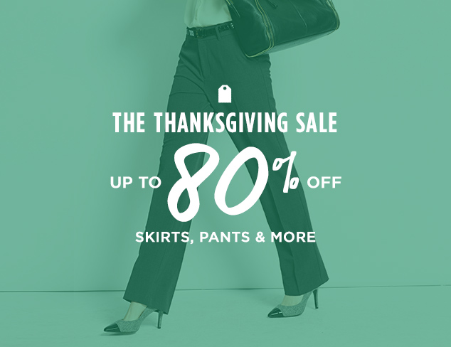 Up to 80% Off: Skirts, Pants & More at MYHABIT