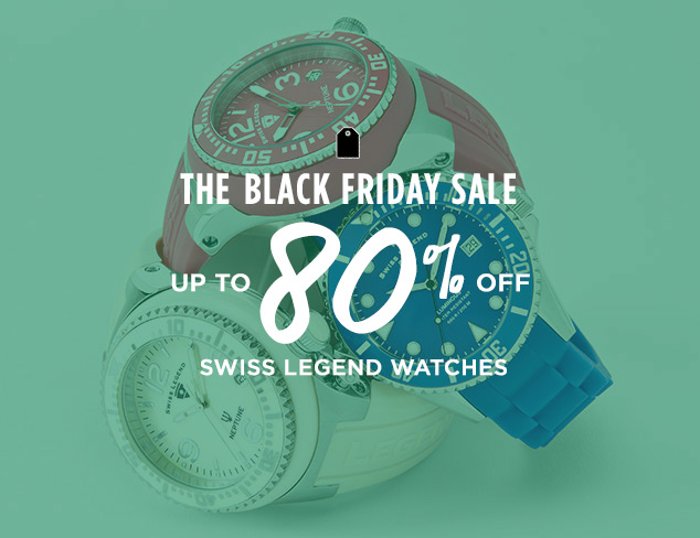 Up to 80% Off: Swiss Legend Watches at MYHABIT