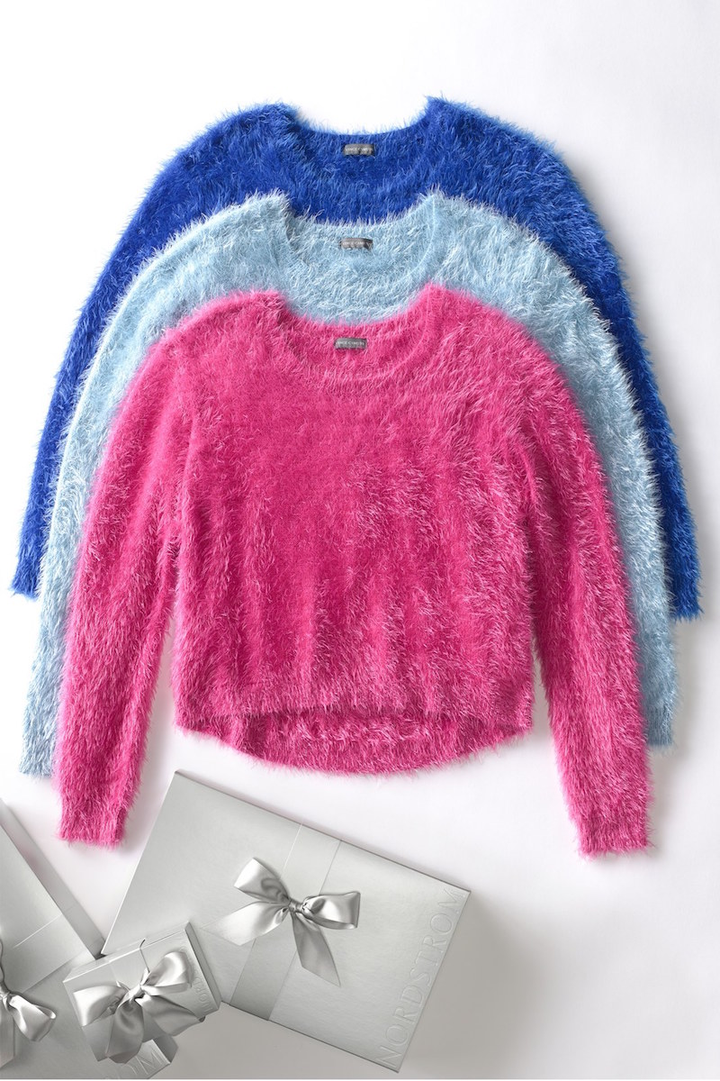 Vince Camuto Eyelash Knit Sweater_1