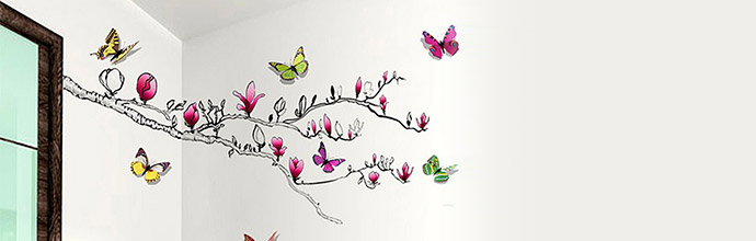 Walplus Wall Stickers at Brandalley