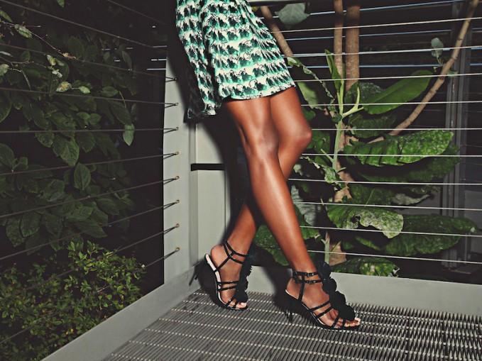 kate spade new york Ina Rosette Sandals