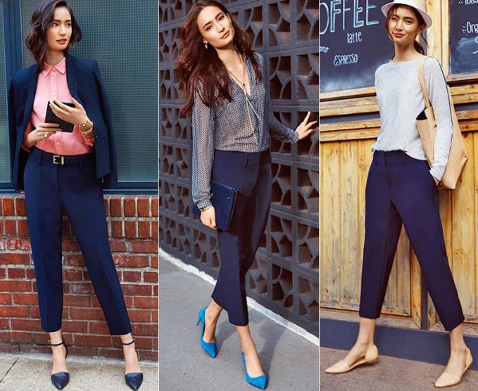 3 Ways to Wear The Drapey Crepe Cropped Pants