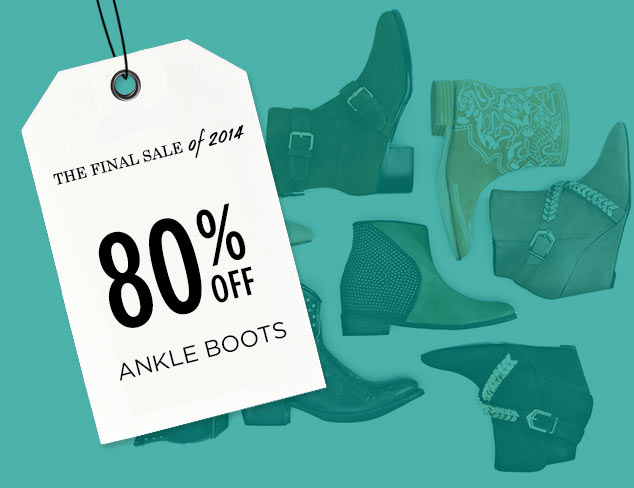 80% Off: Ankle Boots at MYHABIT