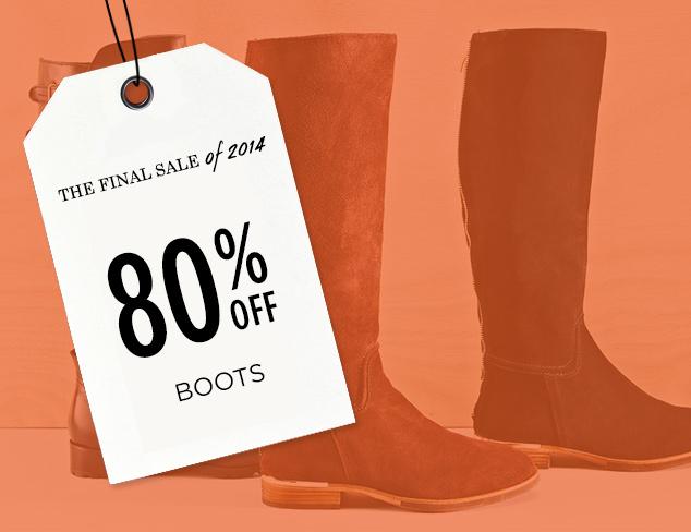 80% Off: Boots at MYHABIT