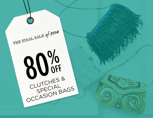 80% Off: Clutches & Special Occasion Bags at MYHABIT