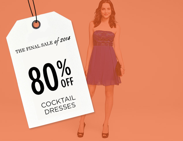 80% Off: Cocktail Dresses at MYHABIT
