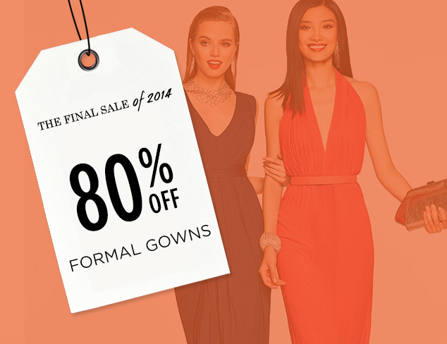 80% Off: Formal Gowns at MYHABIT