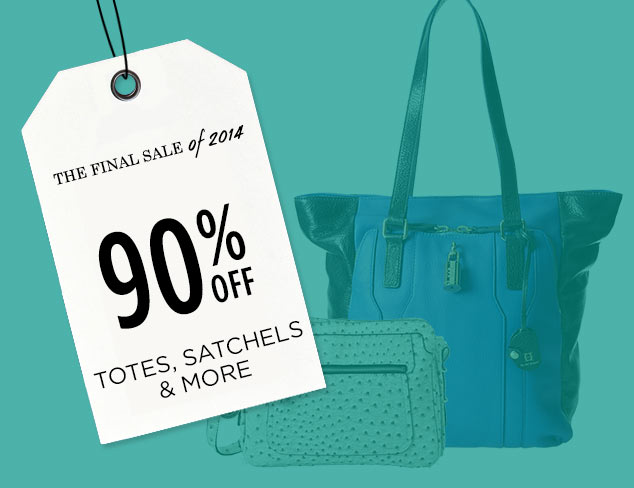 90% Off: Totes, Satchels & More at MYHABIT