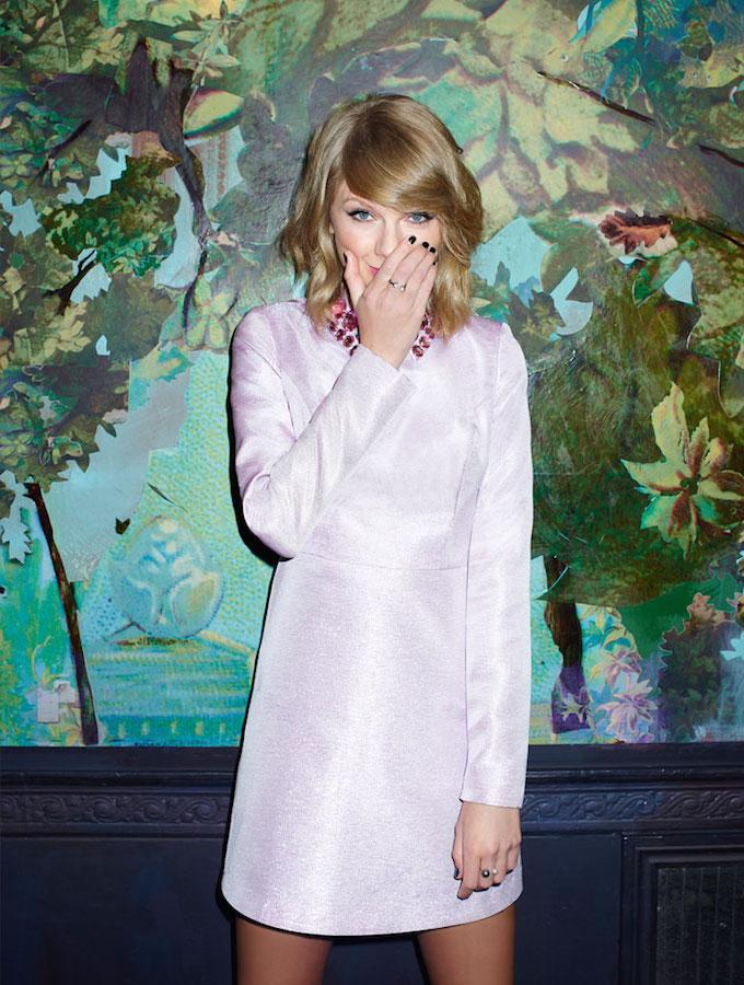 ASOS BLACK Glitter Dress with Gem Collar