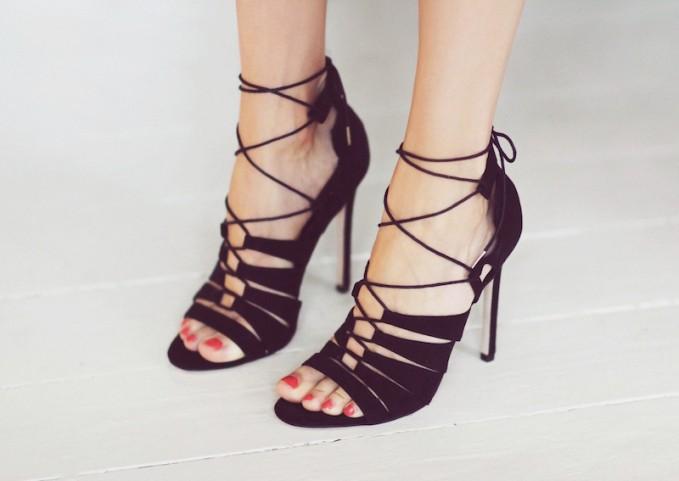 ASOS HEARTBREAK HOTEL Heeled Sandals