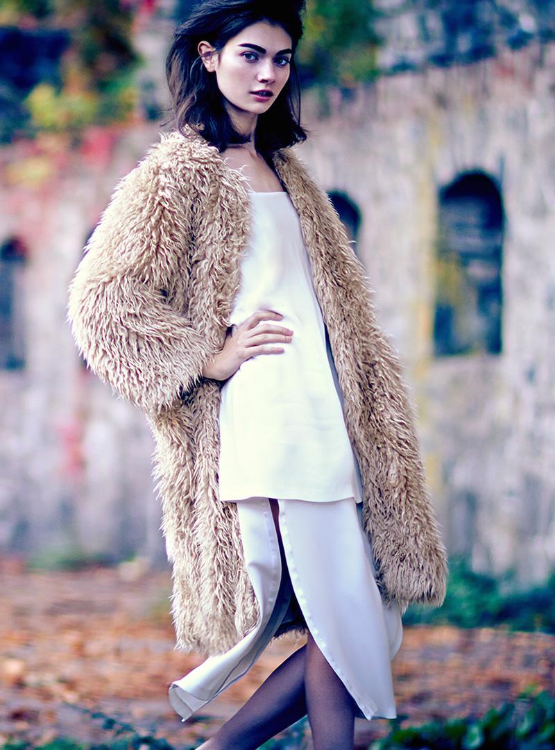 Adam Lippes Textured Cocoon Coat