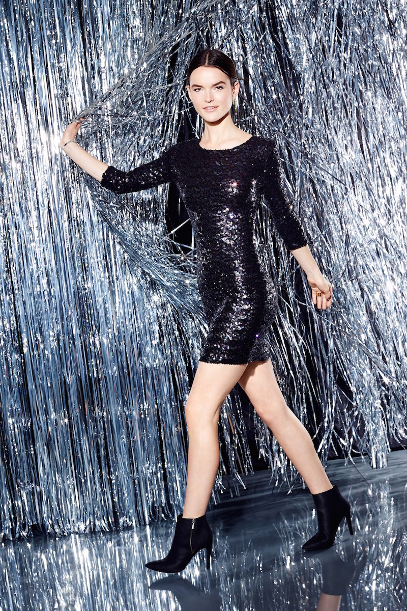 BB Dakota Villette Sequin Body-Con Dress