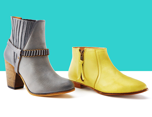 Casual Cool: Boots & Booties at MYHABIT
