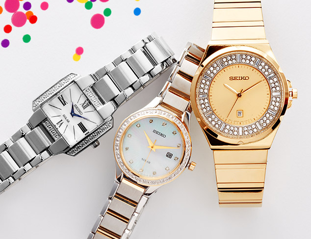 Classic Watches feat. Seiko at MYHABIT