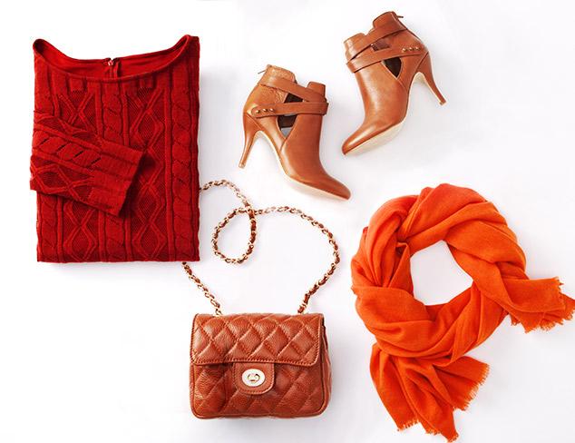 Color Theory: Pumpkin Spice & Cinnamon at MYHABIT