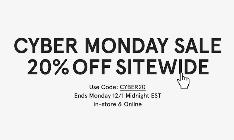 CyberMonday Sales 2014 at Need Supply Co.