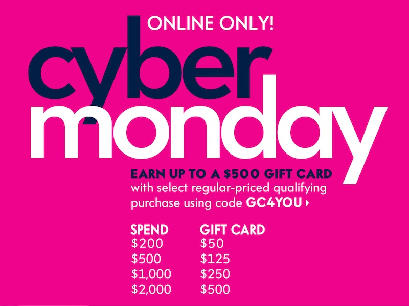 CyberMonday Sales 2014 at Neiman Marcus