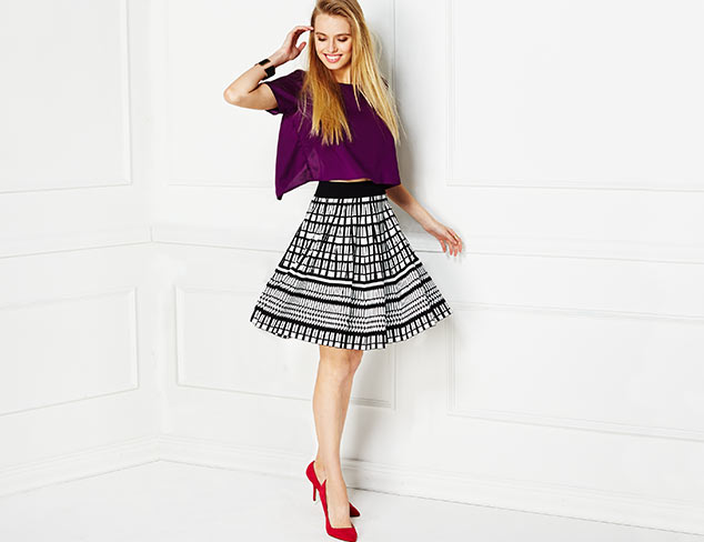 Effortless Style: Tops & Skirts at MYHABIT