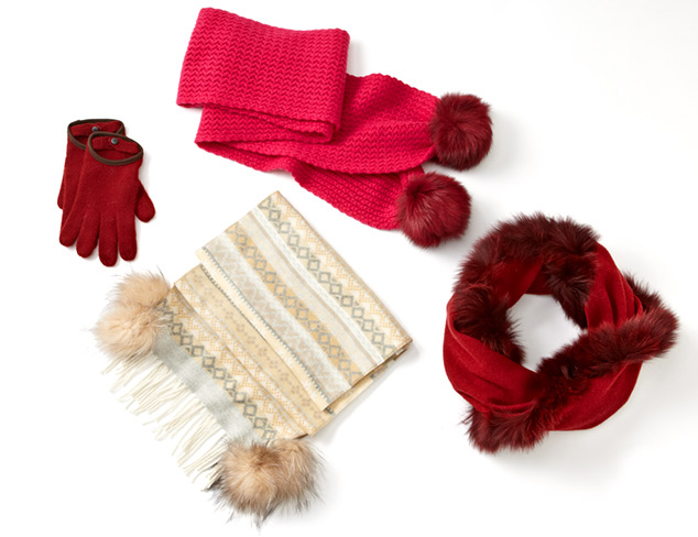 For Cold Weather: Hats, Scarves & Gloves at MYHABIT