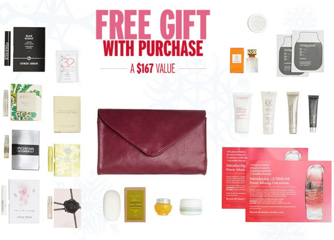 Free Beauty Samples & Makeup Bag Gift with Any $150 Beauty or ...