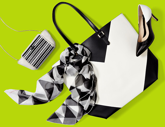 In Black & White: Accessories & Shoes at MYHABIT