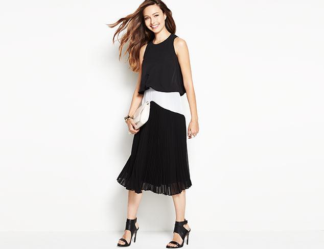 In Black & White: Dresses & Separates at MYHABIT