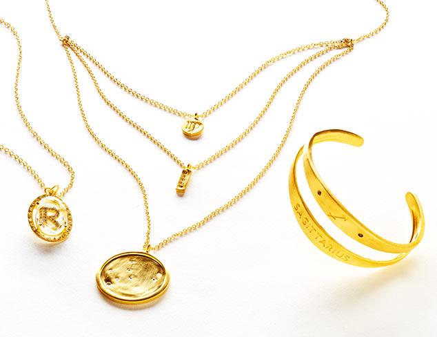 Initial & Horscope Jewelry & Accessories at MYHABIT