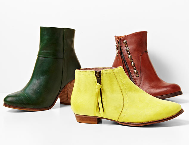 Off Duty Style: Boots & Booties at MYHABIT