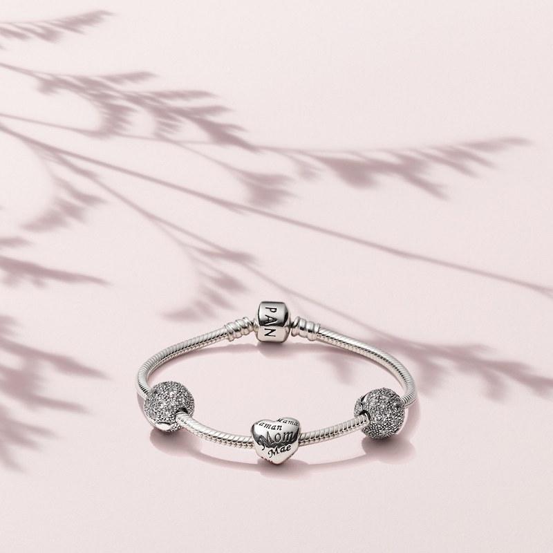 PANDORA Forever in My Heart Boxed Charm Bracelet Set