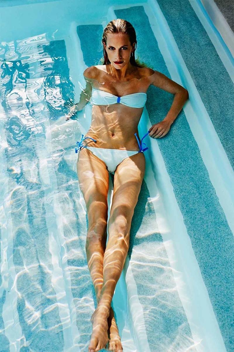Poppy Delevingne x Solid & Striped Bandeau Bikini