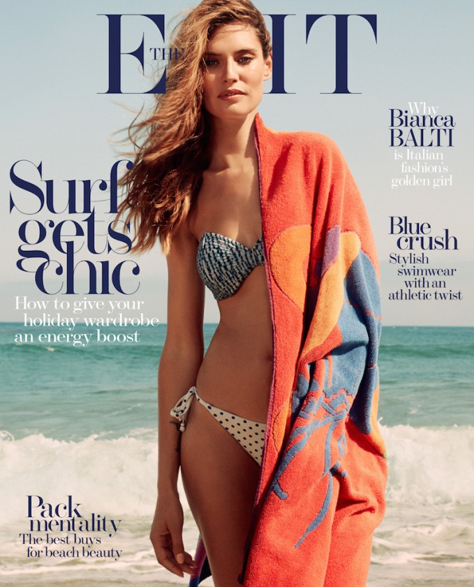 SURF'S UP: Bianca Balti for The EDIT