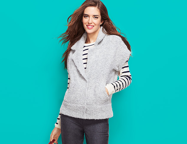 Seasonal Favorites: Sweaters, Jackets & More at MYHABIT