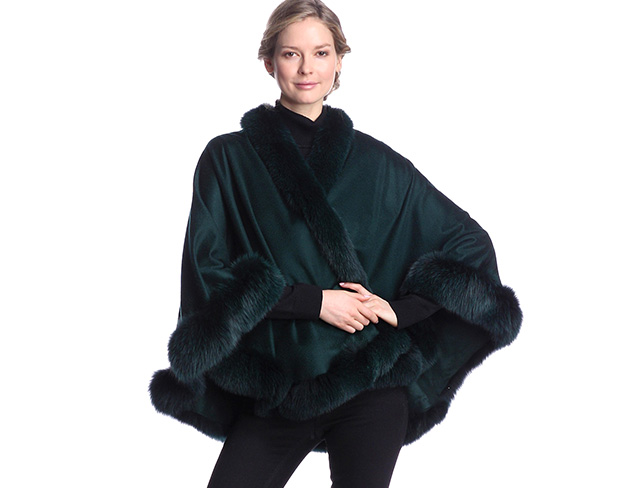 Stay Warm: Capes & Accessories at MYHABIT