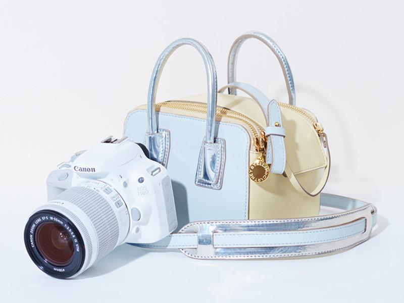 Stella McCartney Linda Camera Bag for Canon EOS 100D White