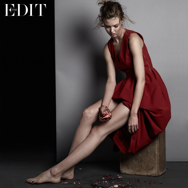 THE GOLDEN GIRL Lindsey Wixson for The EDIT_1