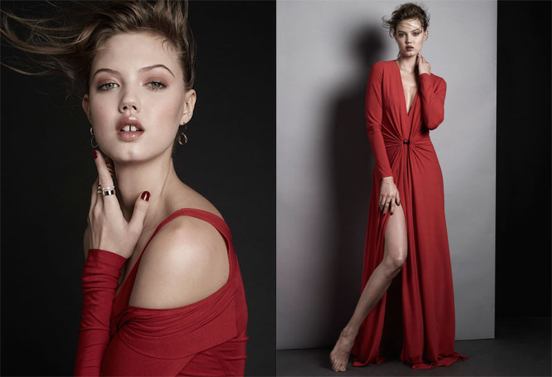 THE GOLDEN GIRL Lindsey Wixson for The EDIT_5