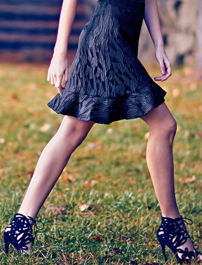 Tabitha Simmons Nina Laser-Cut Suede Booties