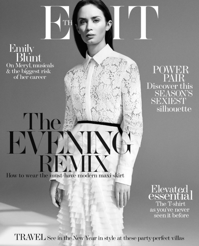 The Real Deal: Emily Blunt for The EDIT