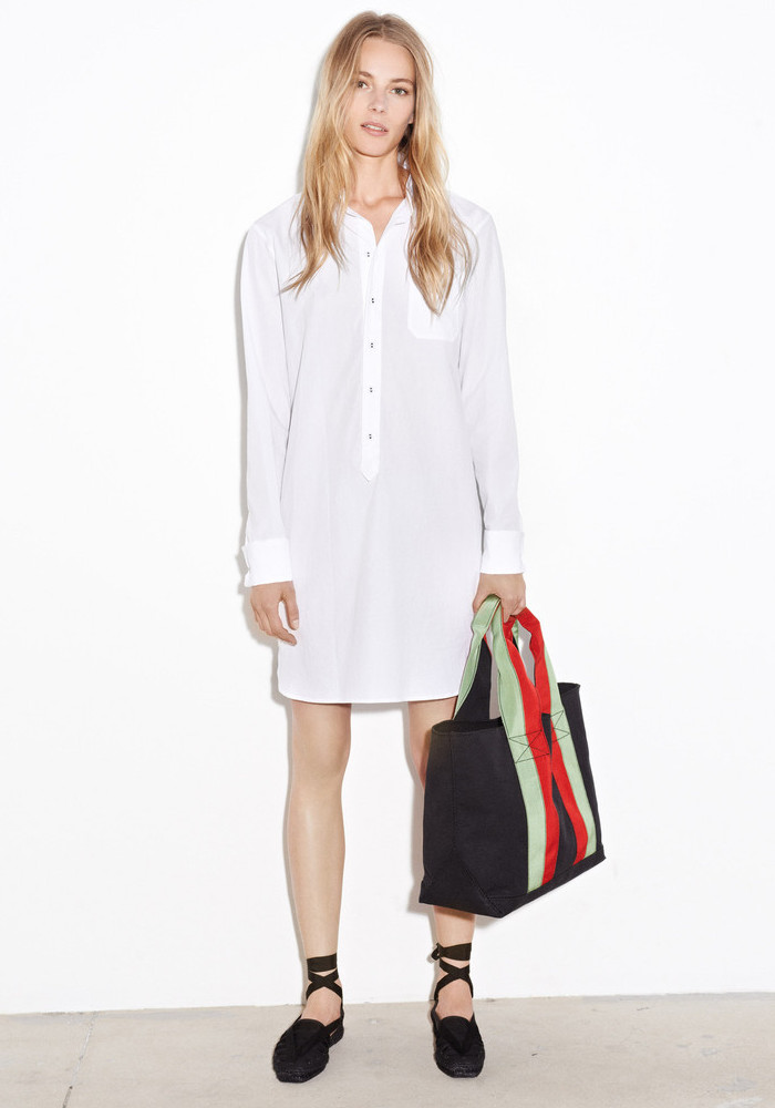 Tomas Maier Cotton-poplin Shirt Dress