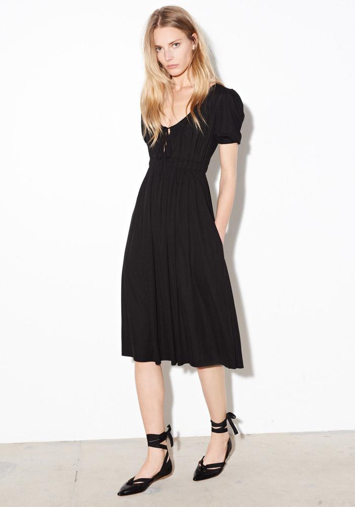 Tomas Maier Scoop-neck Jersey Dress