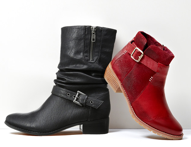 Under $100: Flat Boots at MYHABIT