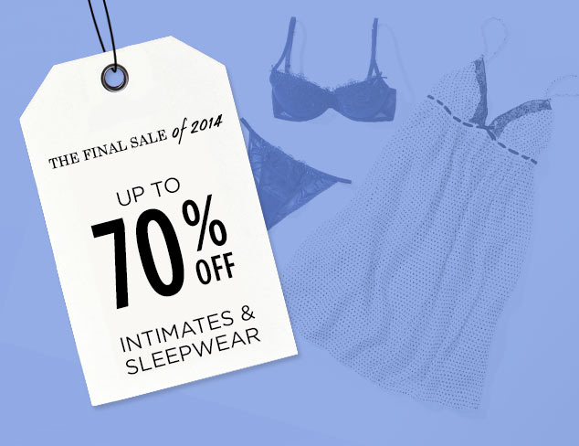 Up to 70% Off: Intimates & Sleepwear at MYHABIT