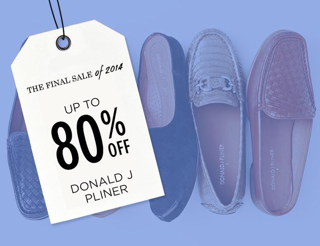 Up to 80% Off: Donald J Pliner at MYHABIT