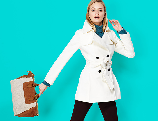Up to 80% Off:  Via Spiga Outerwear at MYHABIT