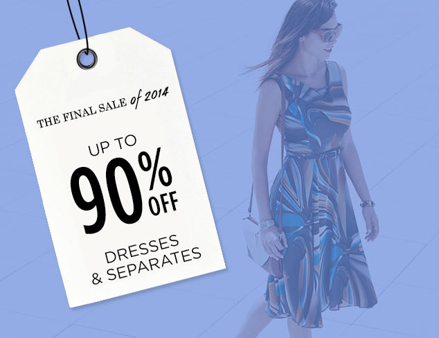 Up to 90% Off: Dresses & Separates at MYHABIT
