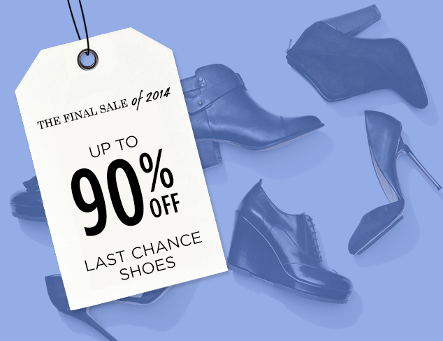 Up to 90% Off: Last Chance Shoes at MYHABIT