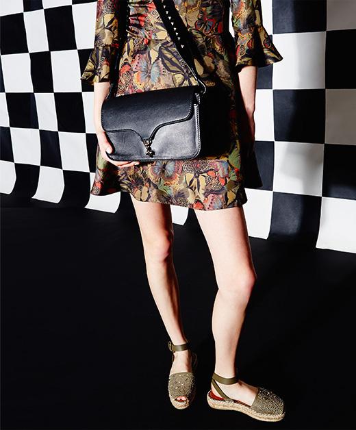 Valentino Band Rockstud Crossbody Bag