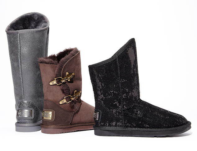 Warm Feet: Lined Boots at MYHABIT